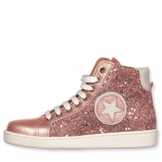 brand new 2a87e dd075 Sneakers in Rosa Glitzer