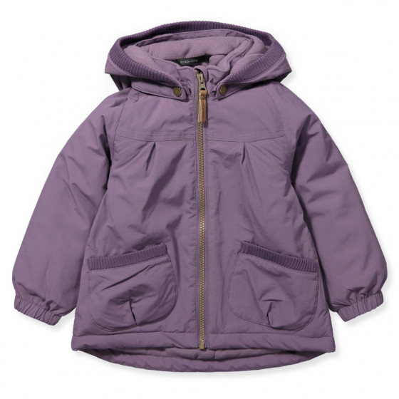 Winterjacke in Lila