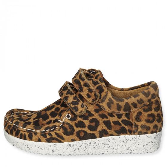 new products 2b369 e95c5 Schuhe aus Wildleder in Leopard
