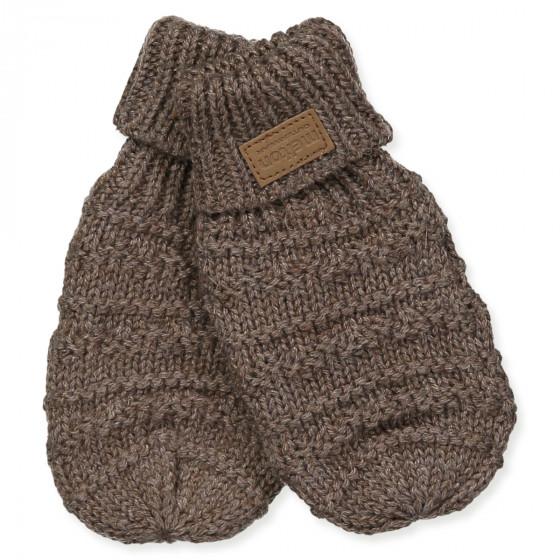 Brandneu geschickte Herstellung zum halben Preis Handschuhe mit Wolle in Braun