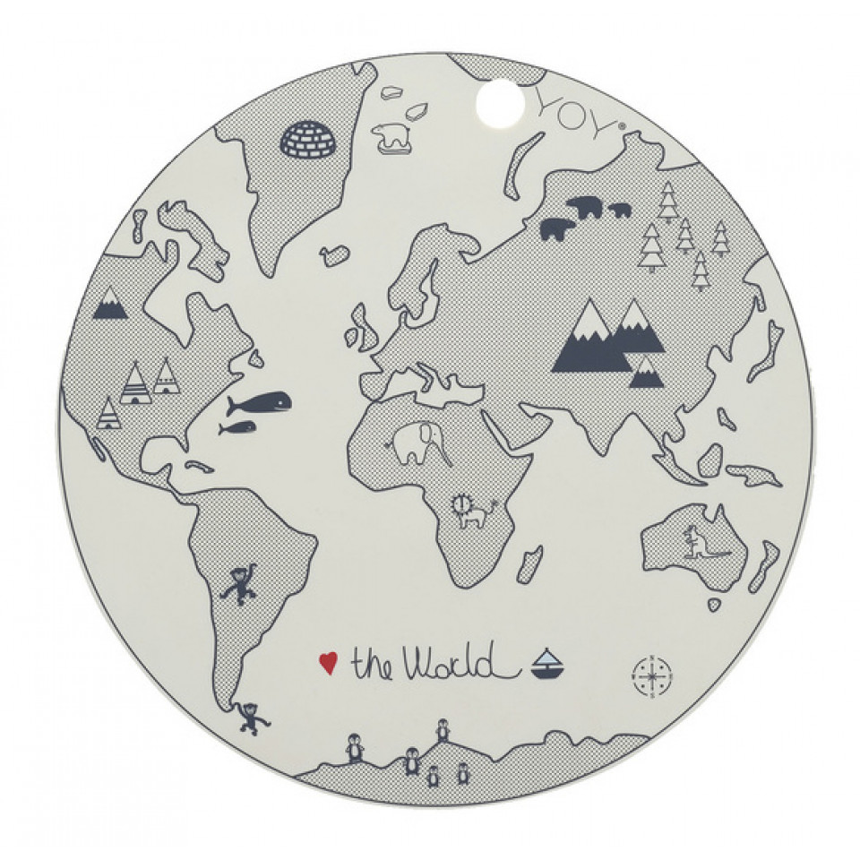 The World Platzdeckchen