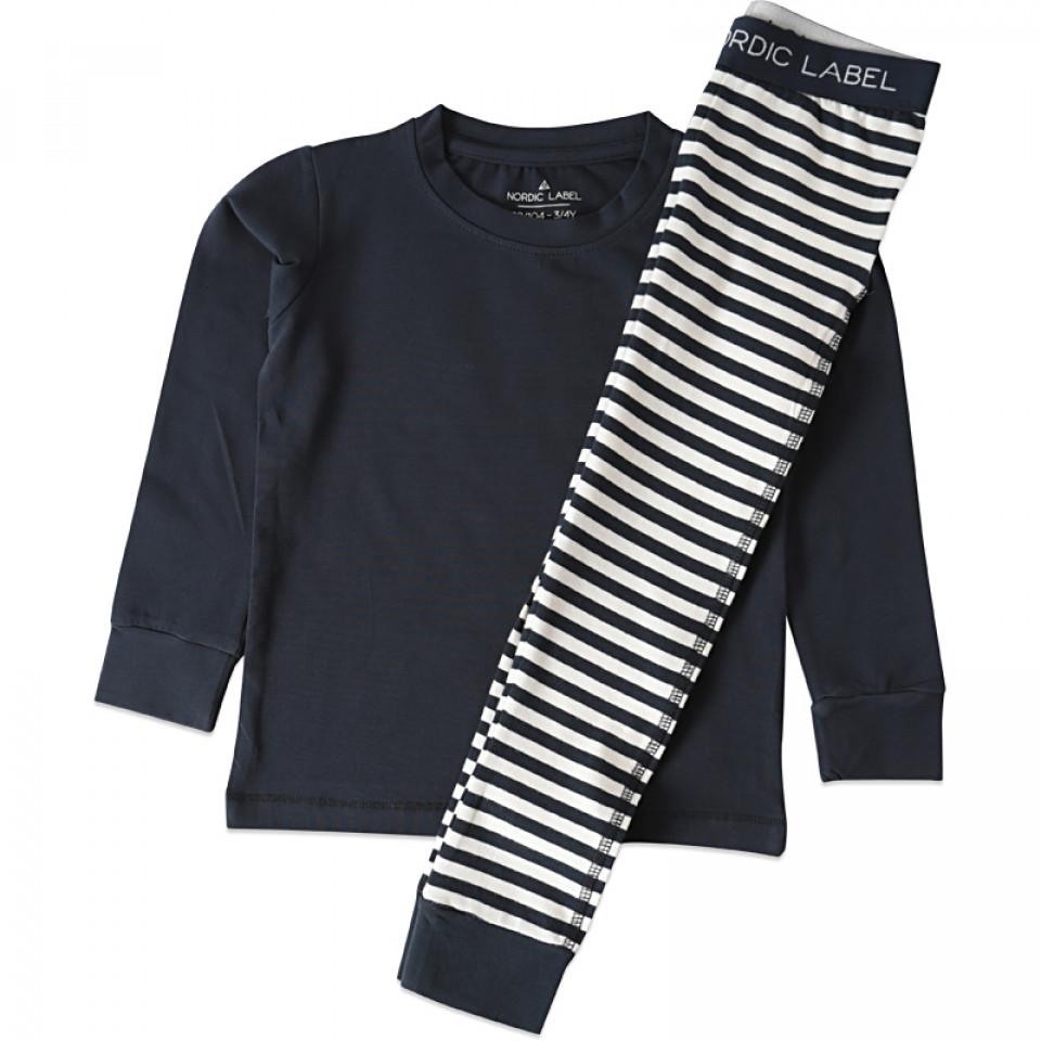 Navy Schlafanzug