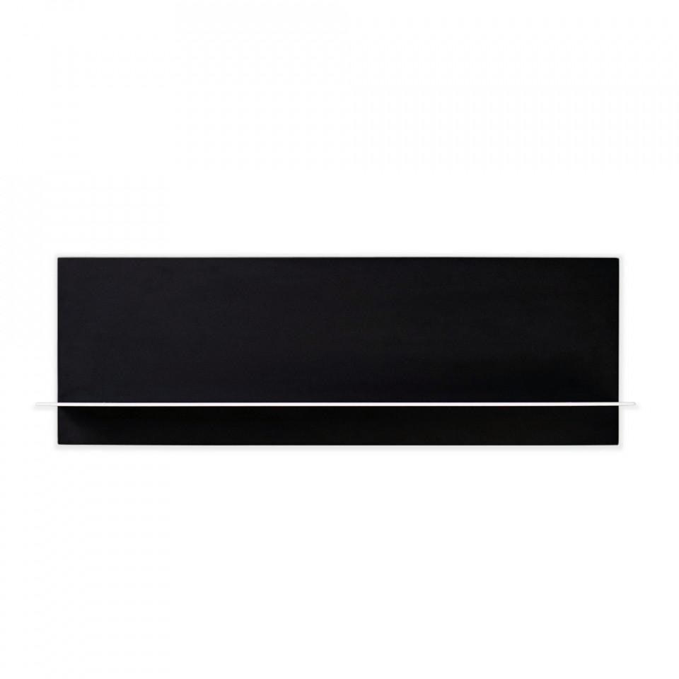 Black Single Shelf