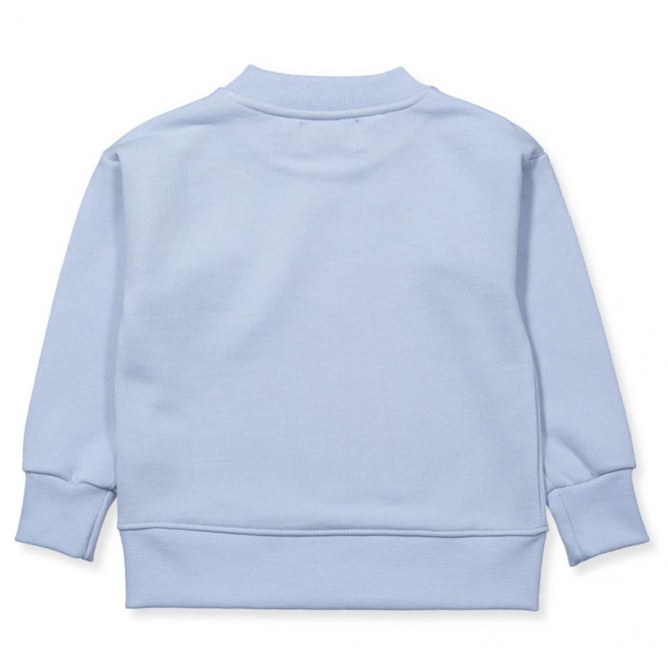 adidas performance T Shirt für Mädchen weißhellblau
