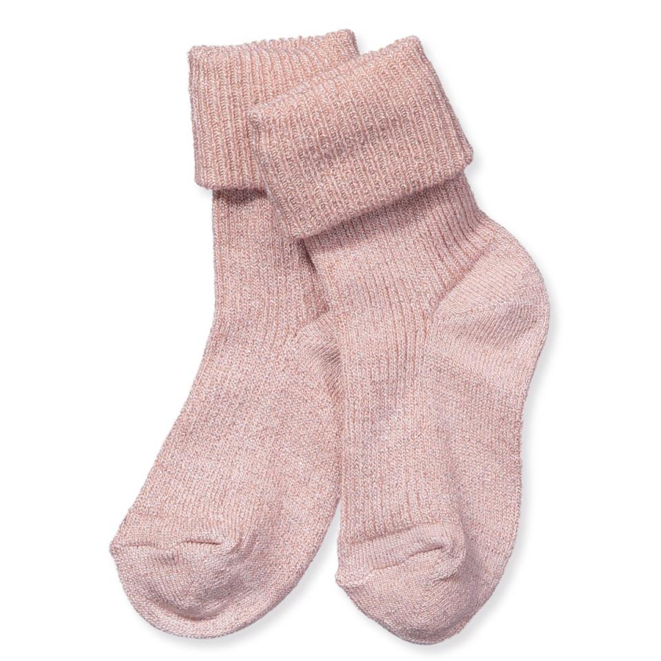 Mp Denmark - Nude Socken mit Bambus - NUDE - Rosa