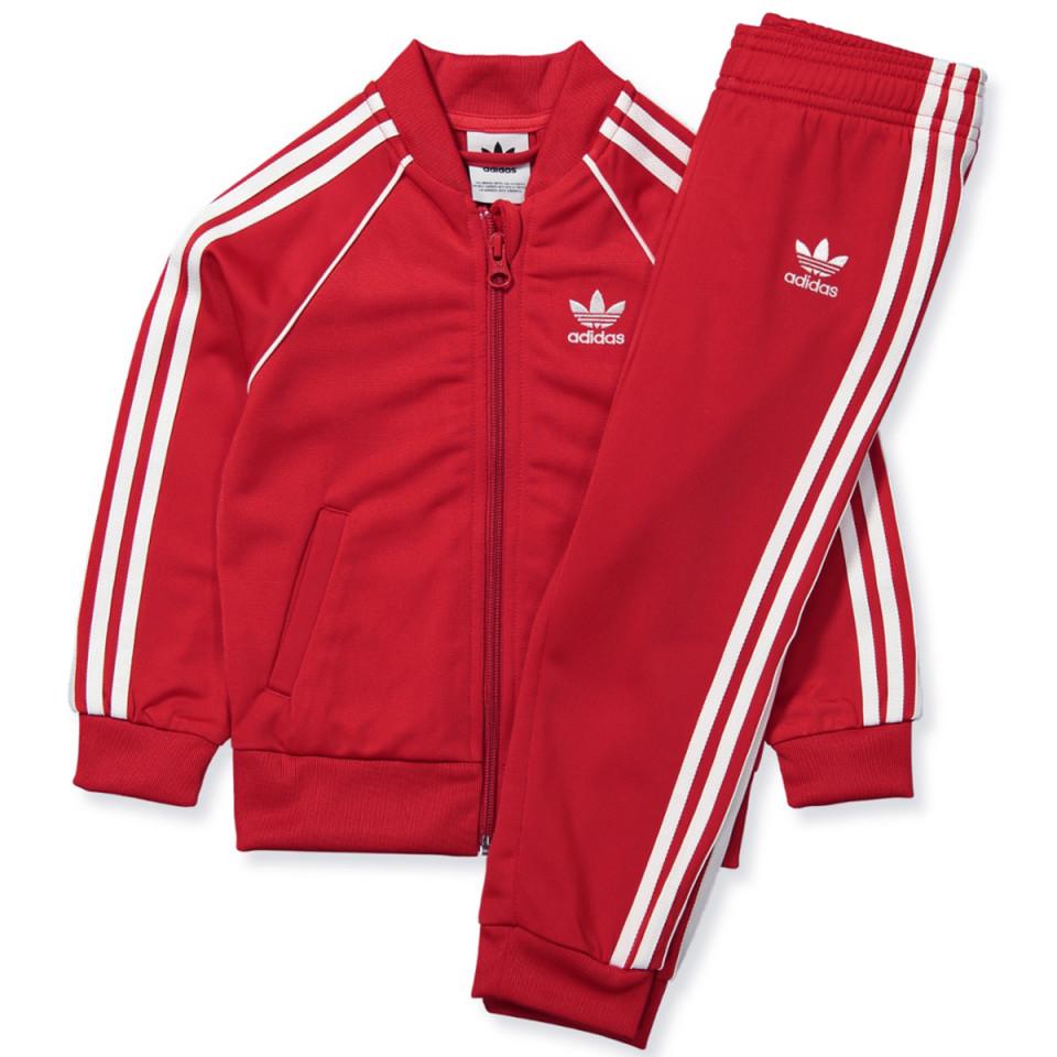 Trainingsanzug in Rot