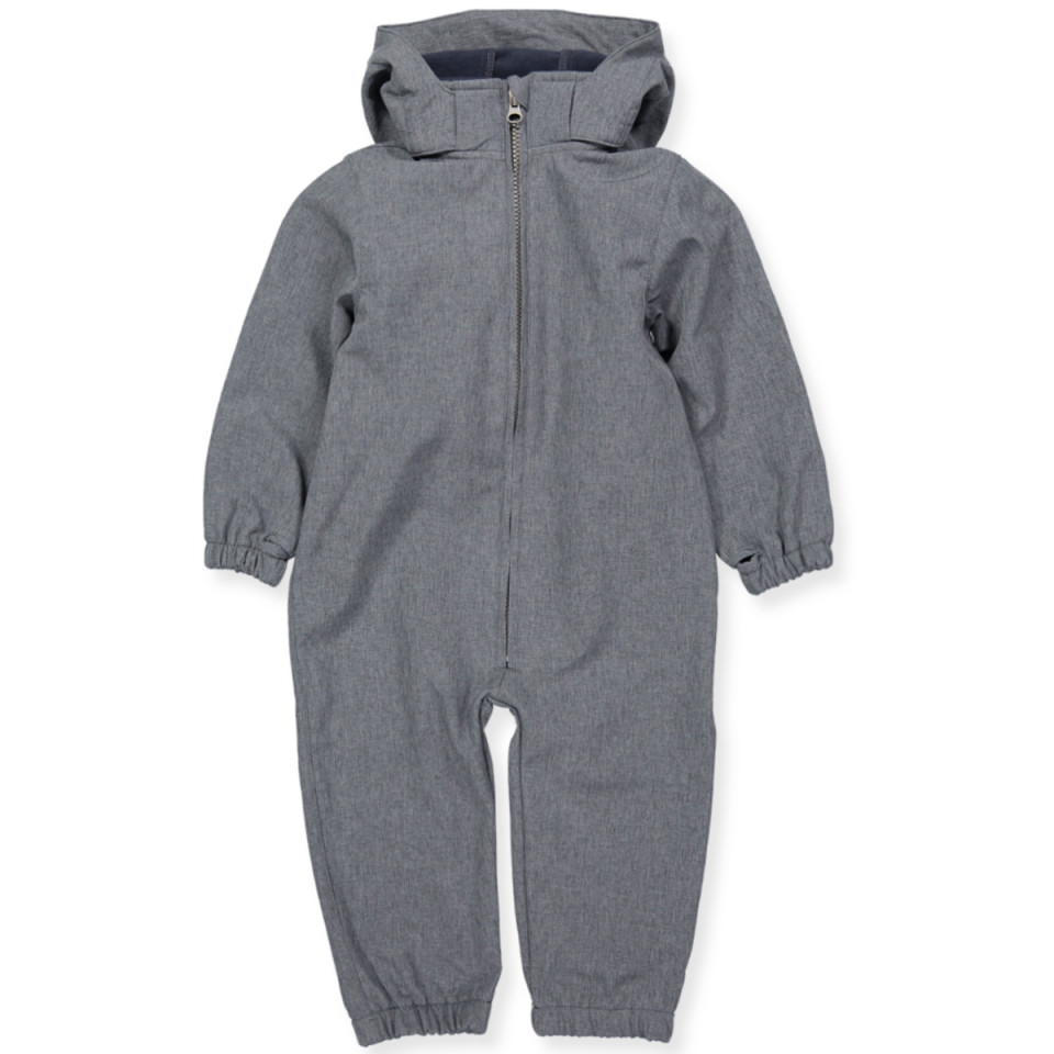 Softshell-Overall in Navy