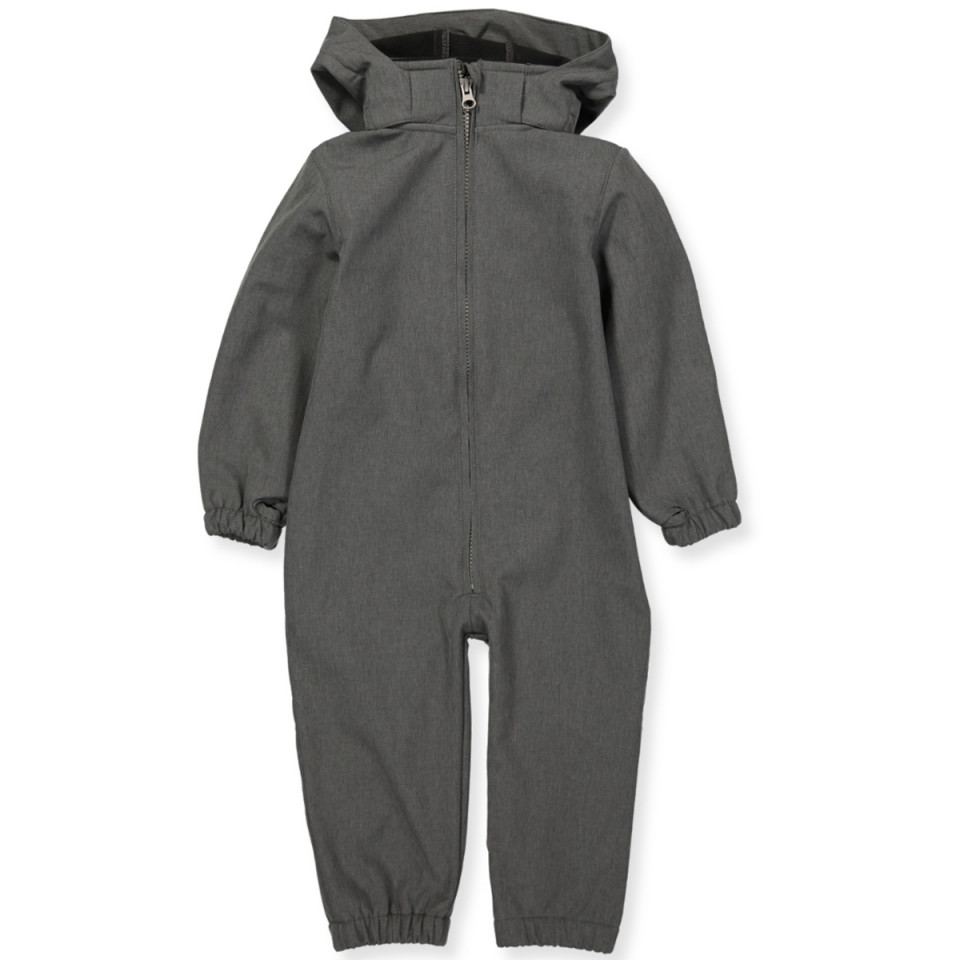 Softshell-Overall in Grau