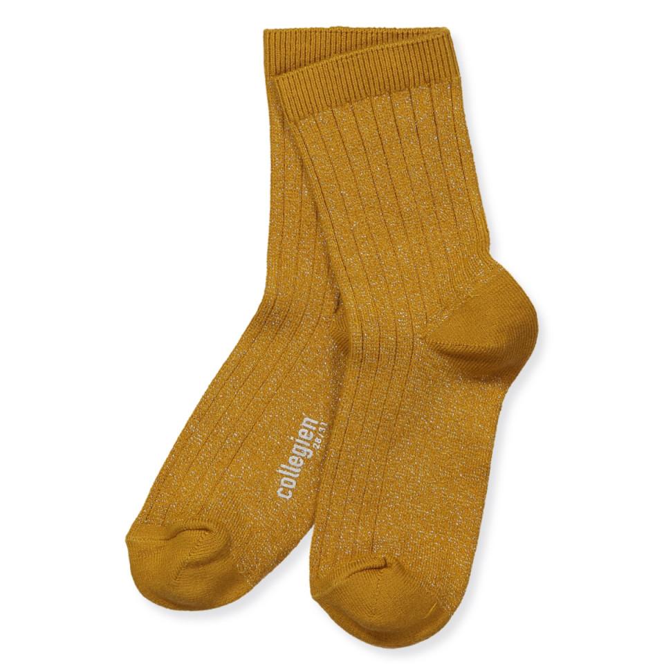 Glitzer Socken und Schnüren
