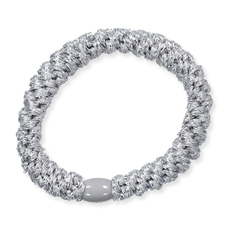 Haargummi Kknekki - Silber