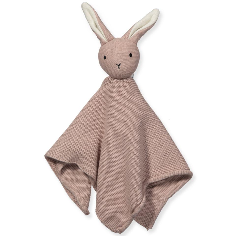 Bio Schnullertuch Milo Rabbit