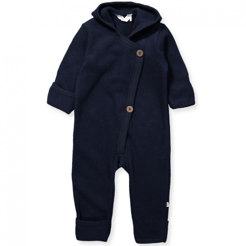 Bio Fleece-Overall Woolly aus Wolle