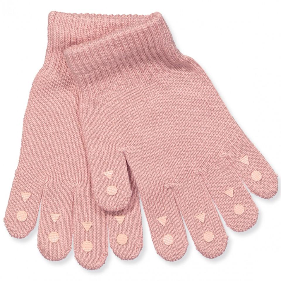 Rosa Fingerhandschuhe