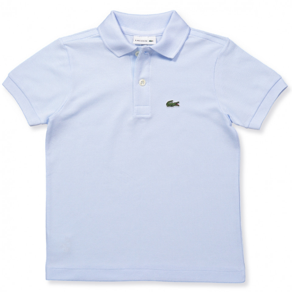 Polo T-Shirt in Hellblau
