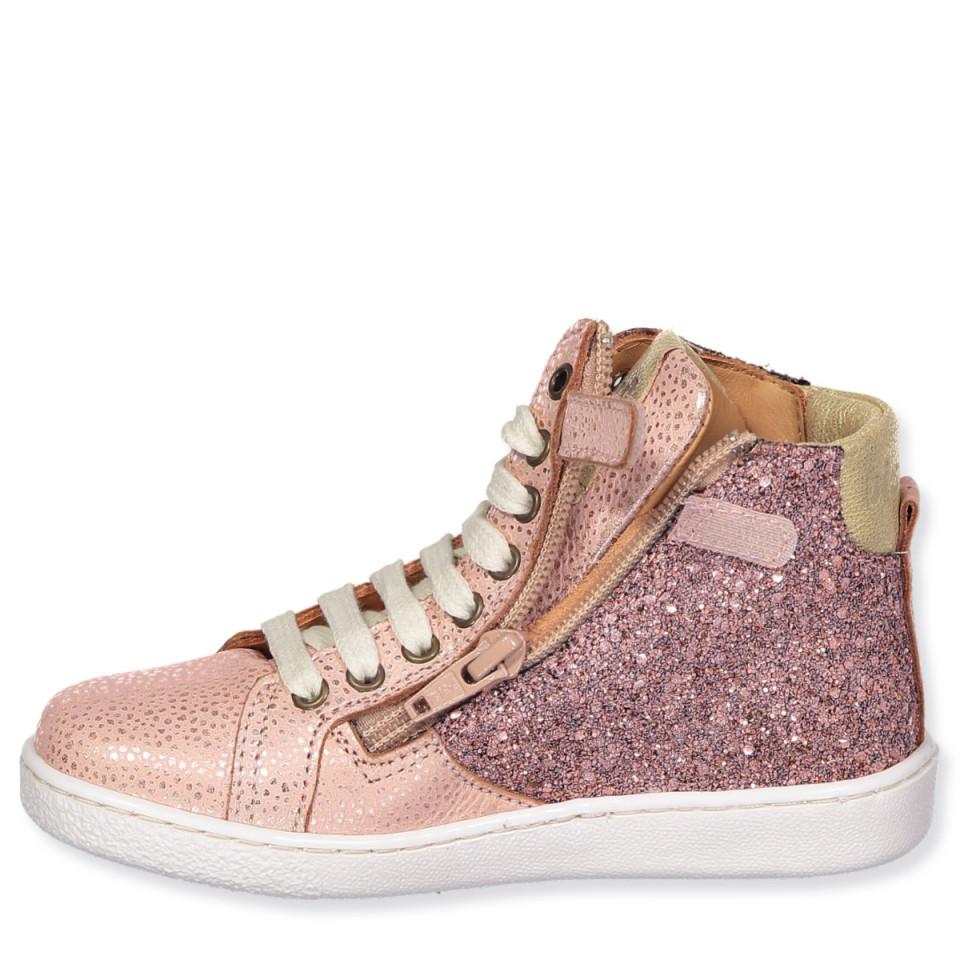 low cost 56c67 c1071 Sneakers Blush mit Glitzer