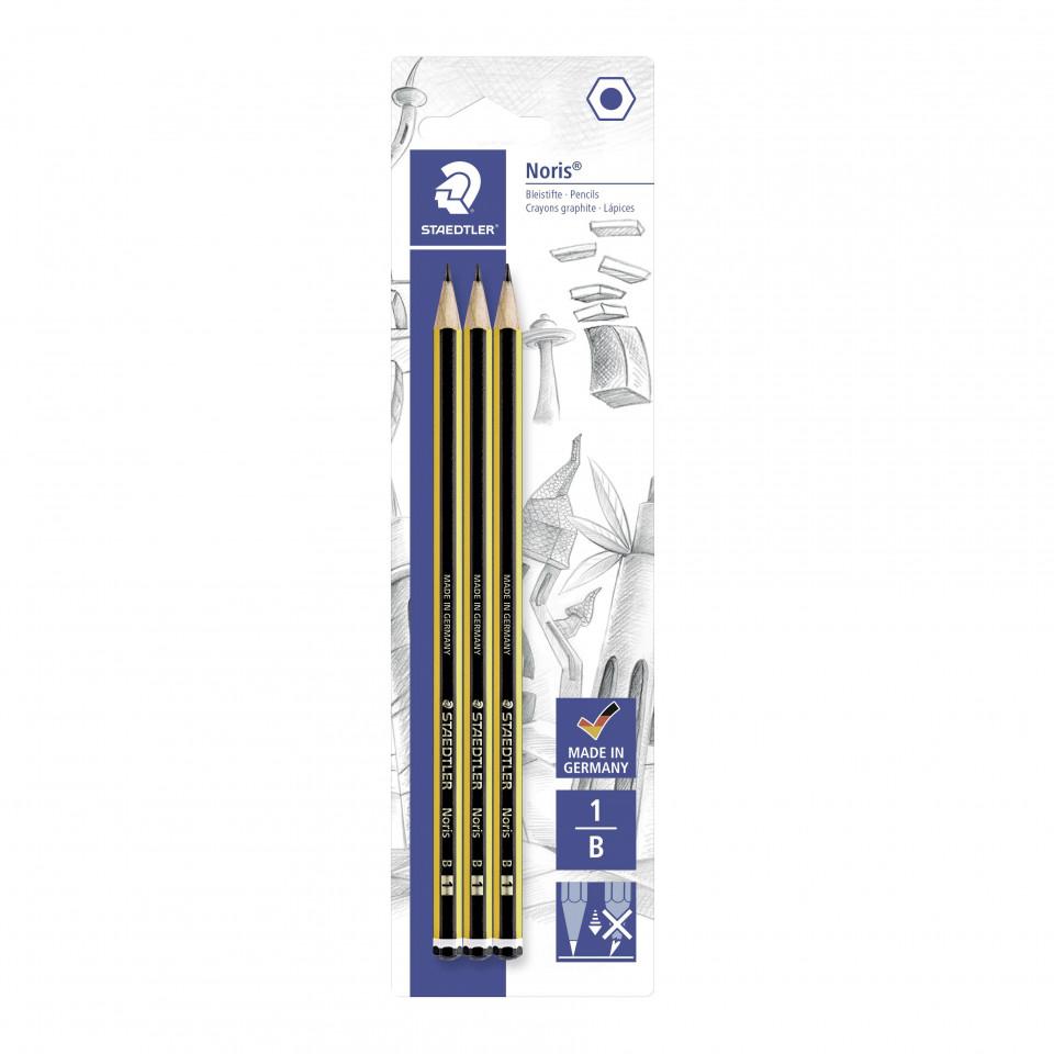 Bleistift Noris B 3 Stk.