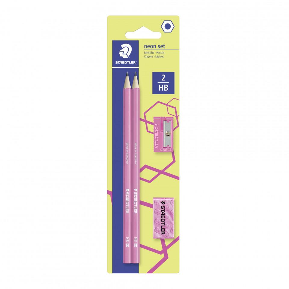 Schreibset Wopex neonpink