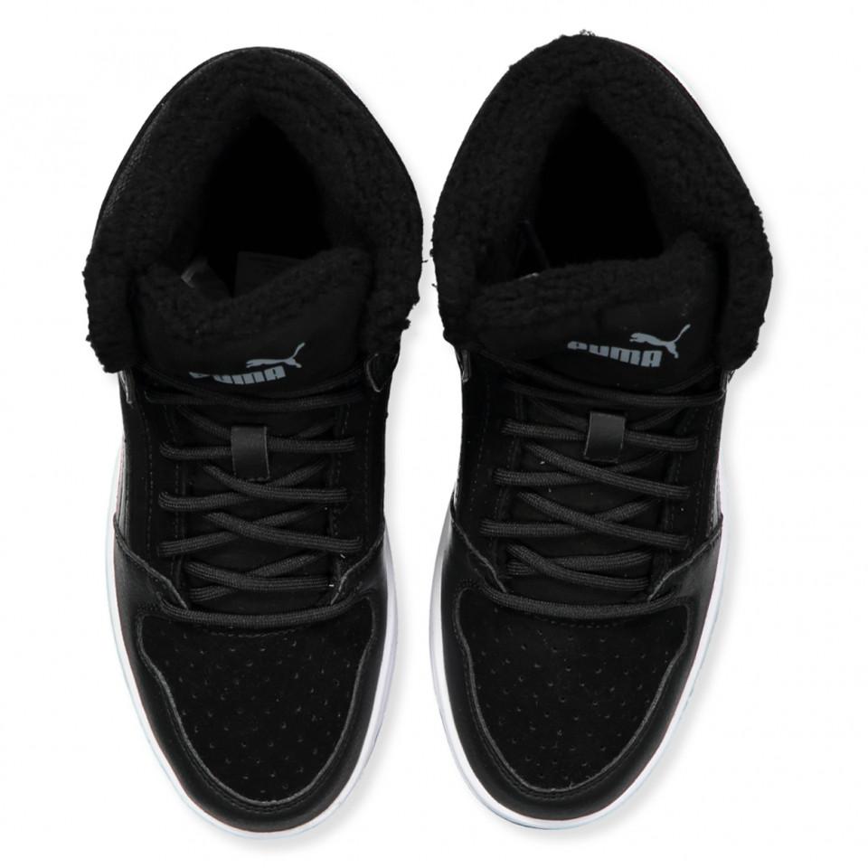 Puma Kinder Sneaker Rebound Layup Fur SD Jr 370497