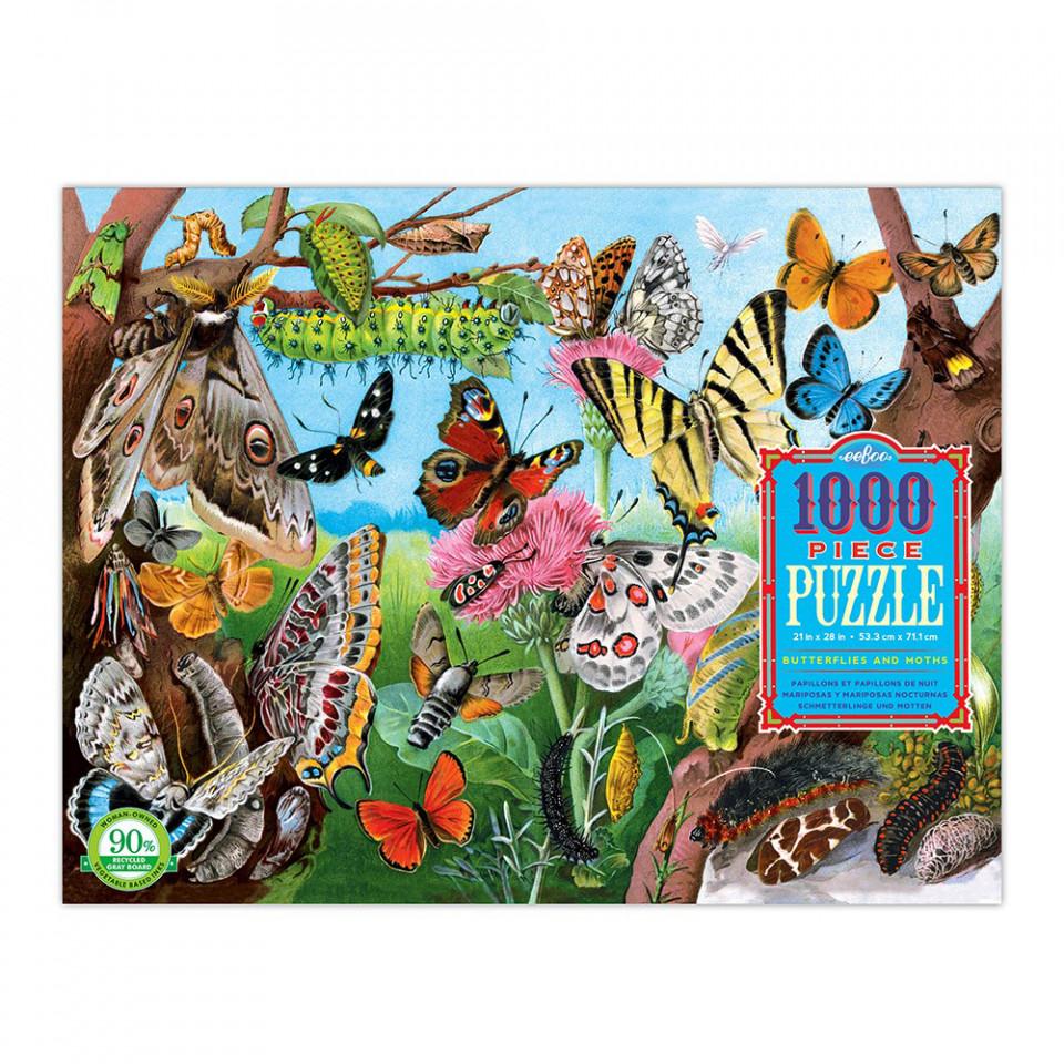 Puzzle 1000 Teile - Schmetterlinge
