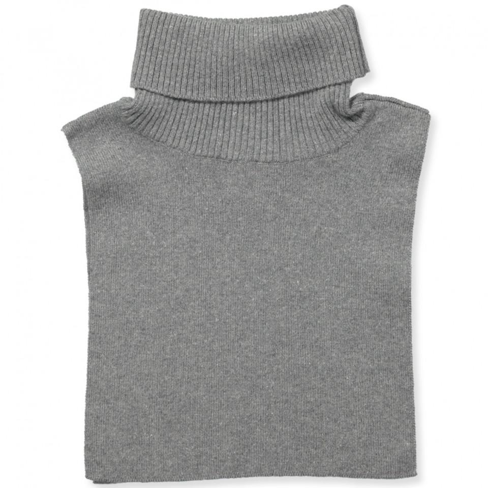 Halswärmer in Grau