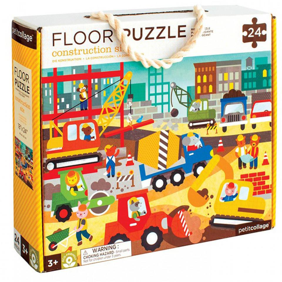 Bodenpuzzle - Bauarbeiten