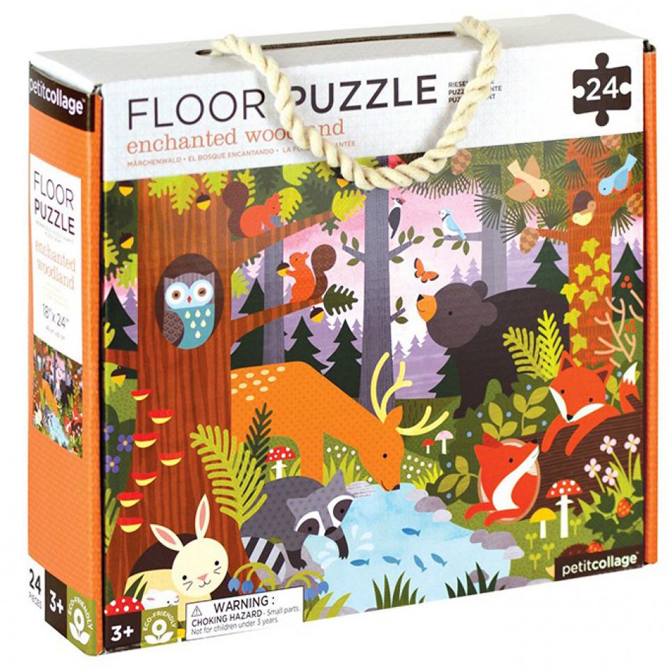 Bodenpuzzle - Der Wald