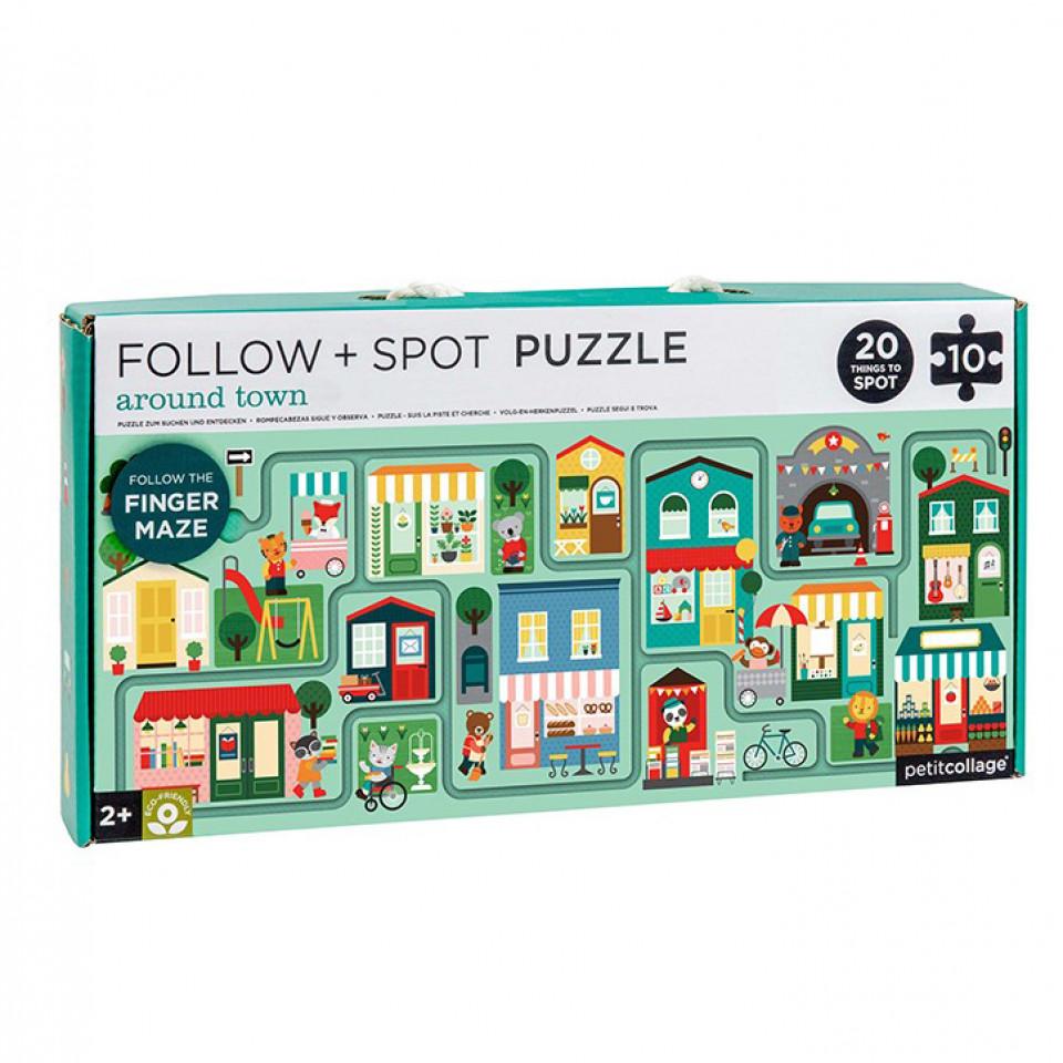 Labyrinth Puzzle - Stadt