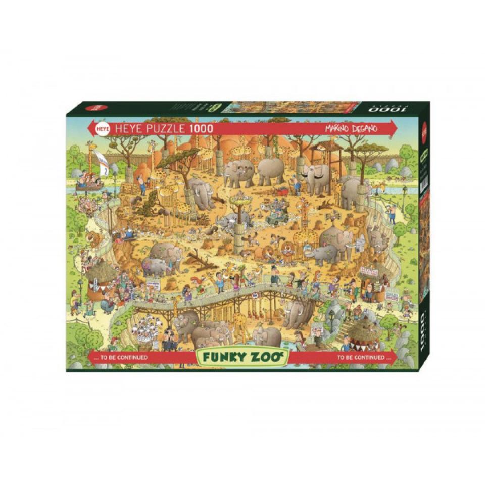 Puzzle African Habitat - 1000 Teile