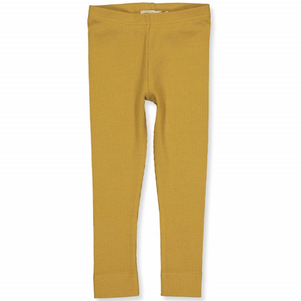 Ripp-Leggings in Golden