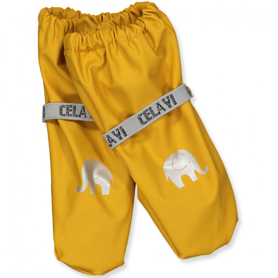 PU-Handschuhe in Gelb