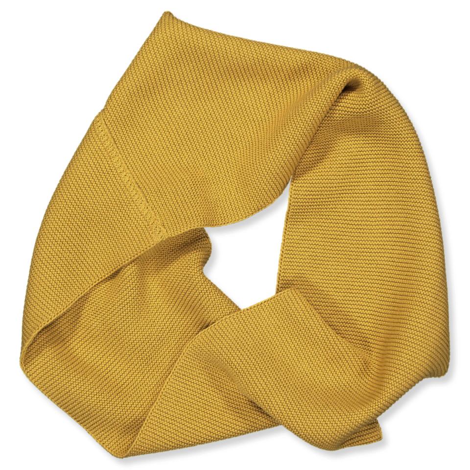 Schlauchschal in Mustard