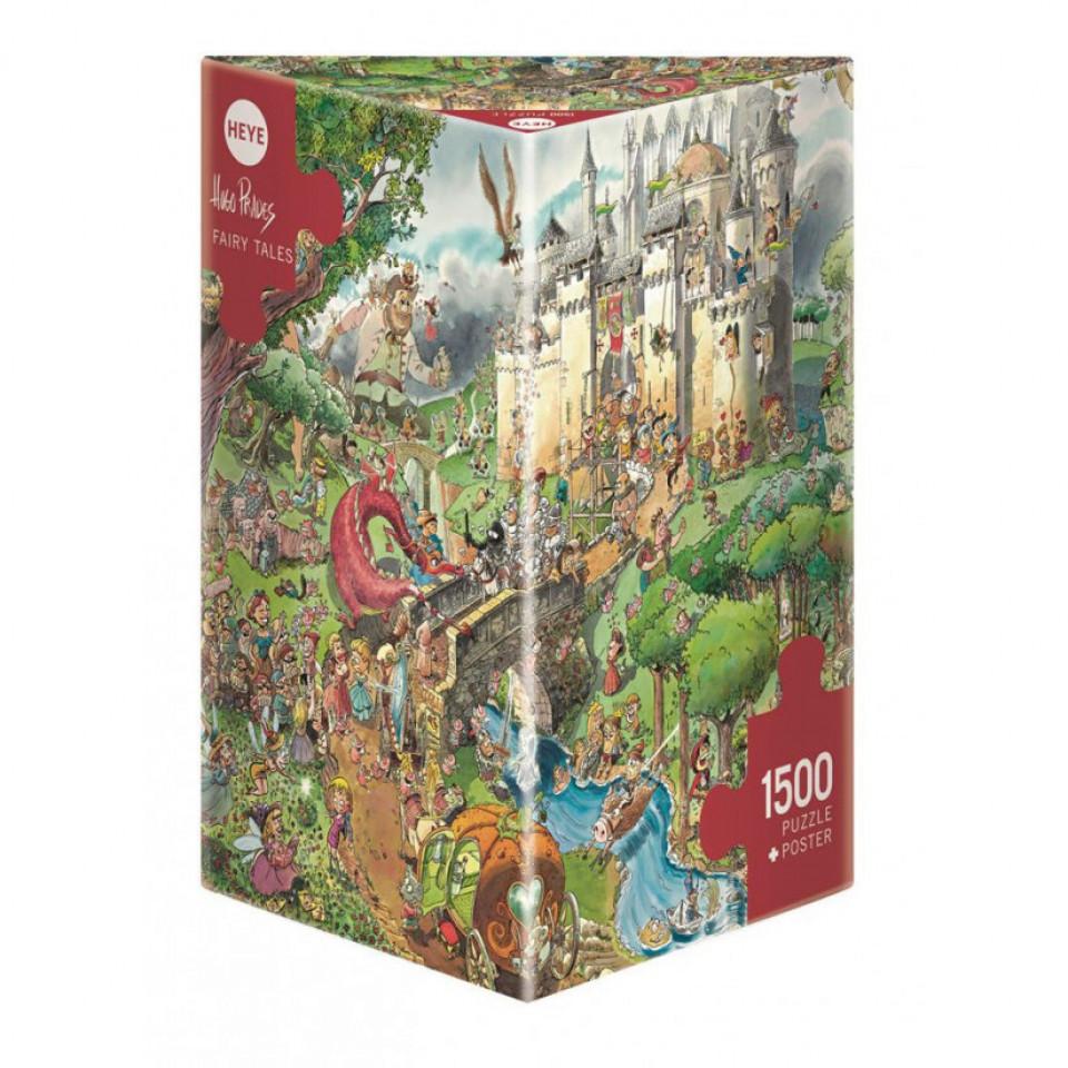 Puzzle Fairy Tales - 4000 Teile