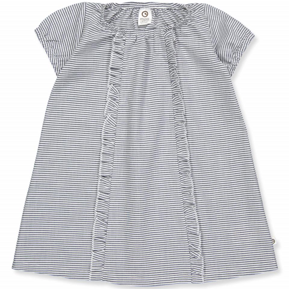 Bio Kleid Stripe