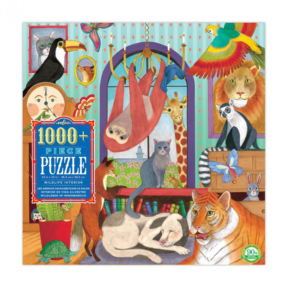 Puzzle 1000 psc - Afrika