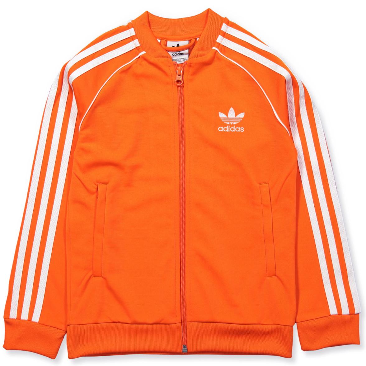 adidas spezial jacke orange