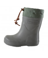 Graue Thermo Wintergummistiefel