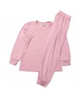 Rosa Bambus Schlafanzug