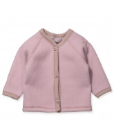 Puder Merinowolle fleece Cardigan