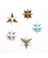Paper Star Ornament DIY