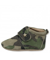 Star Hausschuhe in Army