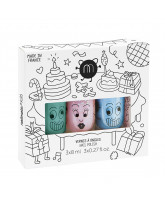 3er-Pack Party - Nagellack für Kinder