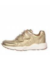 Sneakers in Gold