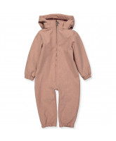 Softshell-Overall in Rosa