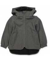 Softshell-Jacke in Grau