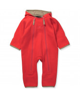 Fleece Overall in Pink