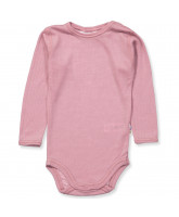 Body aus Wolle in Rosa