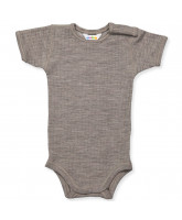 Body aus Wolle in Camel