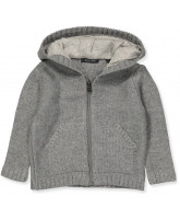 Strick-Cardigan in Grau