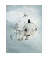 Poster Dear Whalie - 50x70 cm