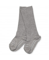 Stoppersocken aus Bambus in Grau